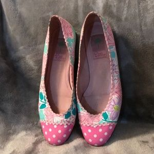 ISO Lilly Pulitzer Flats Size 7